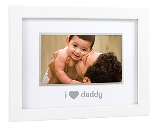 Pearhead Sentiment Frame, I Love Daddy/White - 1