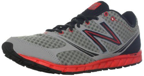New Balance Men's M730v2 Running Shoe,Silver/Red,10.5 D US