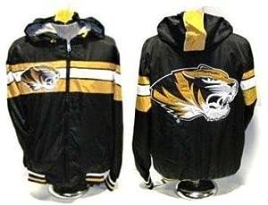 Missouri Tigers Hooded Jacket-full Zip Size 5xl by G-111 SPORTS