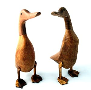 Large Wooden Duck Garden Outdoors