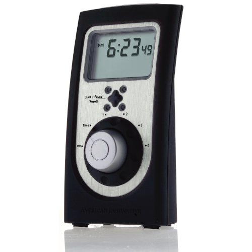 Chef's Quad-Timer Professional (Brushed Stainless) (Chef Timer compare prices)