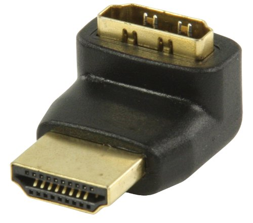 Nedis Valueline 270 Degree Angled HDMI Adapter - Black