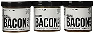 Skillet Bacon Jam Bacon Spread 7 0z. - 3 Jar Pack
