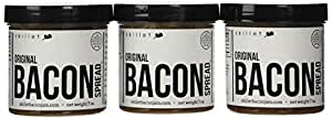 Skillet Bacon Jam Bacon Spread 7 0z. - 3 Jar Pack