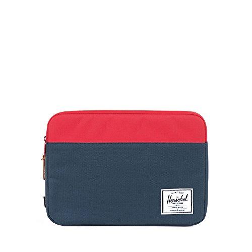 [ハーシェルサプライ] Herschel Supply 公式 Anchor Sleeve for 13 inch Macbook 10054-00018-13 Navy/Red (Navy/Red13)