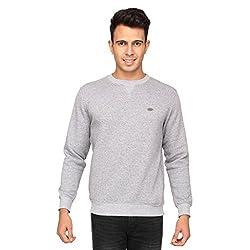 Proline Men's Cotton Knitwear (8907007341469_PC11014_GML_S_Grey Marl)