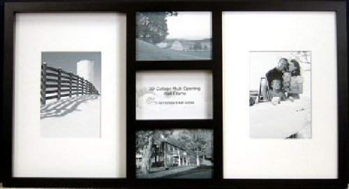 Main Street Decor 3D Wall Collage IV, Black Frame