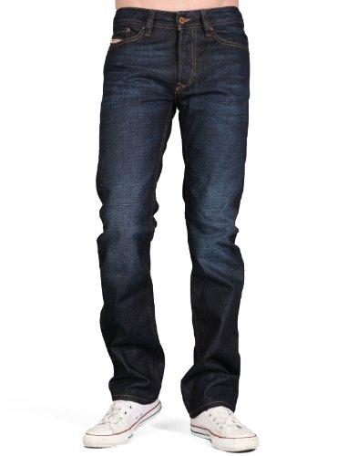 Diesel Viker Rq47 Straight Blue Man Jeans Men - W33 L32