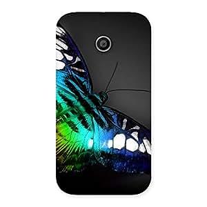 Stylish Butterflie Power Multicolor Back Case Cover for Moto E