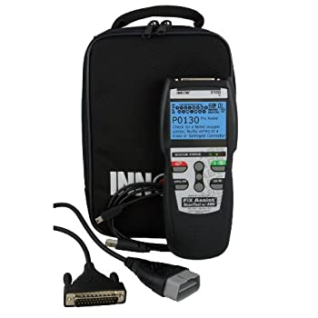 Professional OBDII Scan Tool for all 1996 and newer cars, light trucks, and SUVs. Domestic, Asian and European. This item features an in-tool data base of diagnostic solutions, live data readings, freeze frame data and ABS capabilities.  The Innova 3...