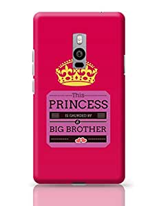 PosterGuy This Princess is Guarded by a Big Brother Gifts for Sister OnePlus Two Cover