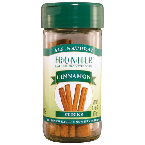 Frontier Herb 2 3/4 Inch Whole Cinnamon Stick (1x1.28 Oz) ( Multi-Pack)