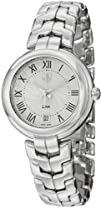Tag Heuer Link Silver Guilloche Dial Stainless Steel Ladies
