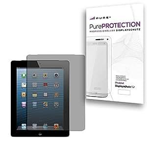 """Pure² PurePROTECTION 4x Displayschutzfolie matt für Apple iPad 2 3 4 """"Retina"""" """"New iPad"""" kratzfestest mit Anti Glare Beschichtung (Keine Reflektion -Entspiegelnd), keine Fingerabdrücke mehr. 4x Schutzfolie im BIG PACK"""