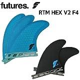 FUTURE FINS フューチャーフィン RTM HEX V2 F4  5fin トライクアッドフィン