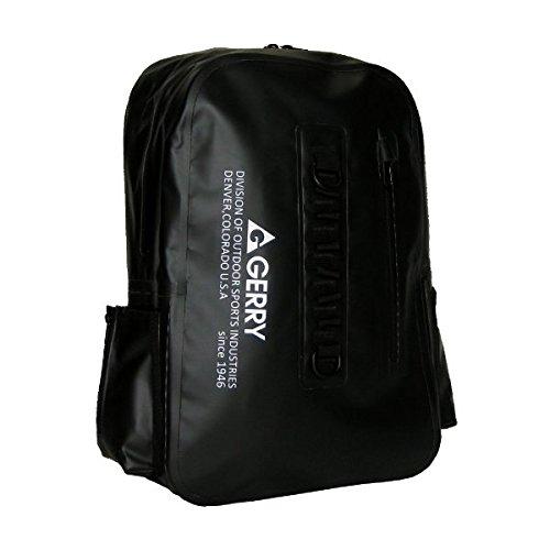 GERRY 超軽量完全防水ディバック GE5009 ブラック ファッション バッグ デイパック リュッ [並行輸入品]