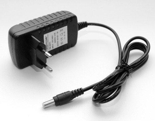 Adaptateur secteur universel 12V 2A 24W 2000mAh 5,5mm x 2,1mm Noir neuf