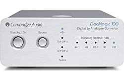CAMBRIDGE AUDIO DACMAGIC 100 24-BIT STEREO DIGITAL TO ANALOG CONVERTER (DAC) - SILVER