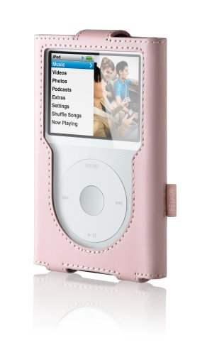 Belkin iPod Classic Leather Sleeve - Cameo Pink