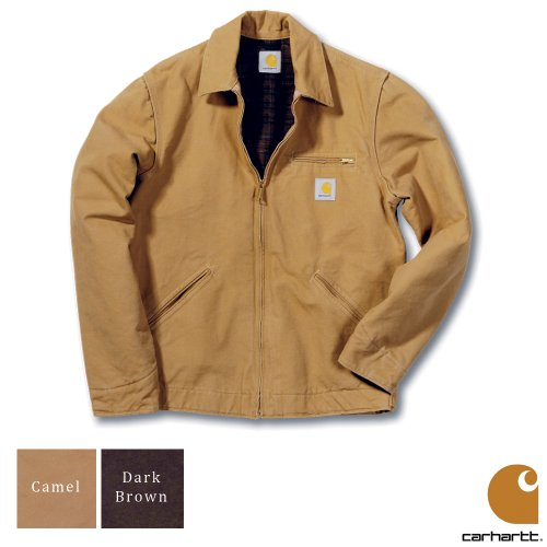 Carhartt Workwear Sandstone Detroit Mens Jacket Camel Brown Small