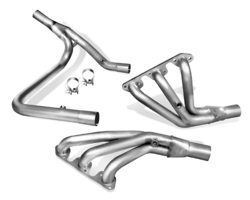 Polished Silver Ceramic Finish BBK 35100 1-5//8 Shorty Tuned Length Performance Exhaust Headers for Ford F Series Truck F150 302