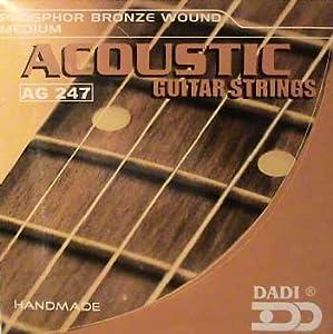 acoustic guitar strings medium gauge musical instruments. Black Bedroom Furniture Sets. Home Design Ideas