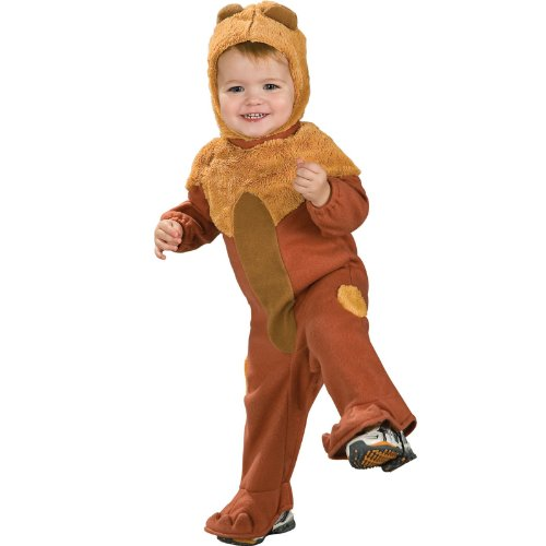 Wizard Of Oz Cowardly Lion Romper Costume, 6-12 Months