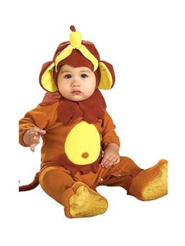Brand New Baby Infant Little Cutie Monkey Halloween Costumes Size 6 to 12 Months