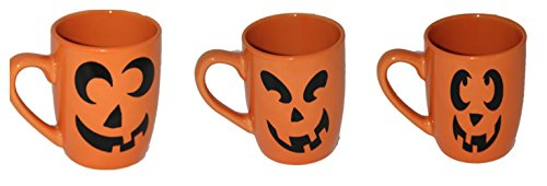 Halloween Jack-o-Lantern Pumpkin Scary Spooky Coffee Mug (Scary Halloween Coffee Mugs)