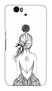 Print Haat Back Case Cover for Huawei Nexus 6P (Multicolor)