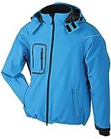 Men's Winter Softshell Jacket/James & Nicholson (JN 1000) S M L XL XXL