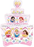 Disney Princess Birthday Cake Giant Foil Balloon (Uninflated)