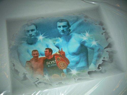 KLITSCHKO-fratelli pacchetto-stampata - direttamente dal artista 30 cm x42cm