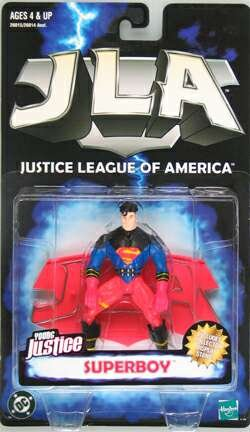 Buy Low Price Hasbro JLA Justice League America Young Justice : Superboy Figure (B0018I4KRW)