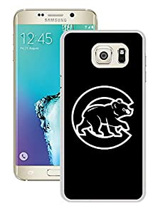 buy Brand New Custom Chicago Cubs Samsung Galaxy S6 Edge Plus White Case