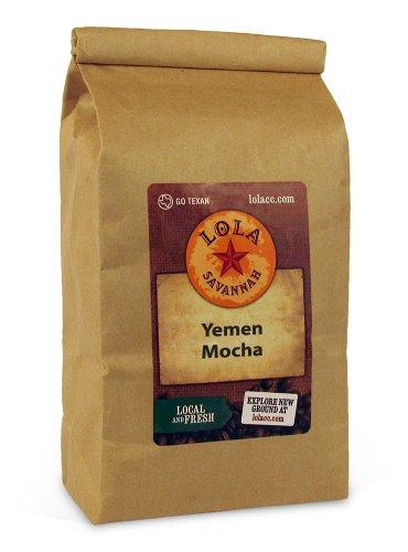 Lola Savannah Coffee - Yemen Mocha (Whole Bean) 2Lb