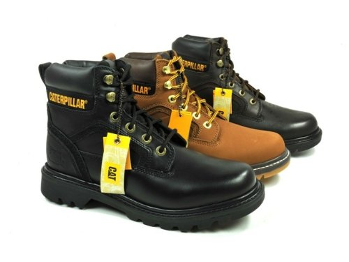 Caterpillar Stickshift Tan 12 UK
