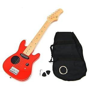 ts-ideen 5243 Guitar électrique pour Enfant Rouge