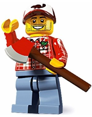 Lego Minifigures Series 5 - Lumber Jack - 1
