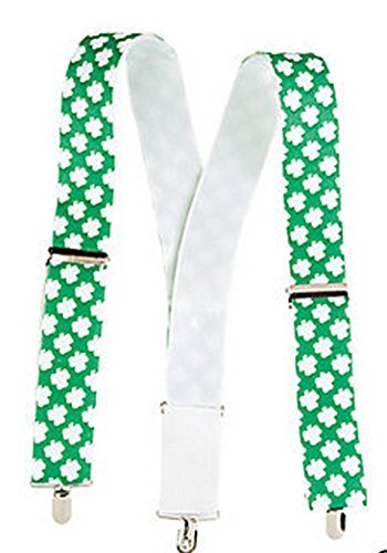 St. Pat's Suspenders (1 Piece) St. Patrick's Day/Novelty/Party