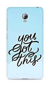 AMEZ you got this Back Cover For Lenovo Vibe P1