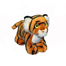 Cute Tiger Cub Soft Toy Standing