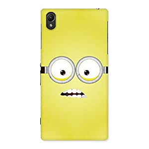 Premium Yellows Fun Back Case Cover for Sony Xperia Z1