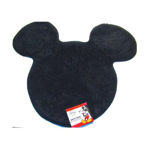 Disneys Mickey Mouse Silhouette Bath Rug