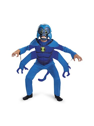 Spider Monkey Boy's Ben 10 Costume