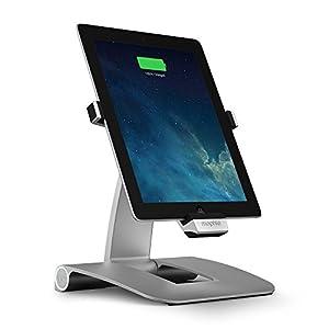 Mophie Powerstand für Apple iPad 4 Gen. mit Lightning Anschluss aus Aluminium
