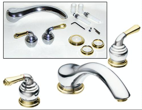Moen T951BN Monticello Two-Handle Low Arc Roman Tub Faucet