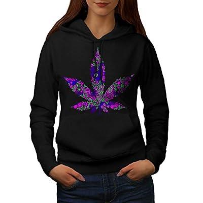Hippie Freedom Plant Sensation Women NEW Black S-2XL Hoodie | Wellcoda
