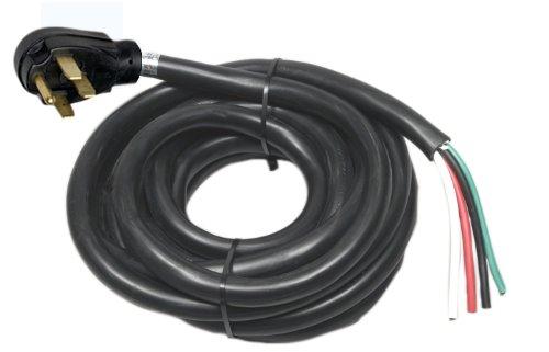 Imagen de Arcon 14250 cable de alimentación del generador de 50 amperios del cable de alambre desnudo de 25 pies