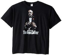 American Classics Men's Big-Tall The Godfather Movie Don Corleone T-Shirt, Black, 5X